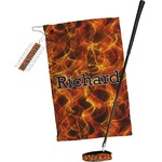 Fire Golf Towel Gift Set (Personalized)