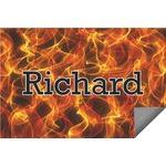 Fire Indoor / Outdoor Rug (Personalized)