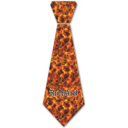 Fire Iron On Tie (Personalized)