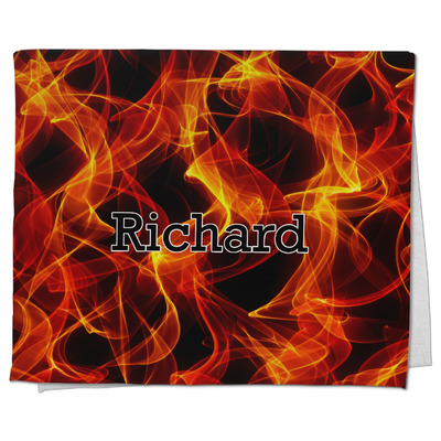 Fire Kitchen Towel - Full Print (Personalized)