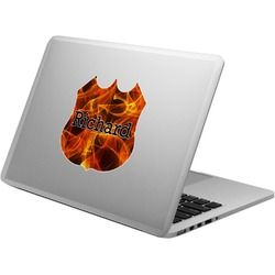 Fire Laptop Decal (Personalized)