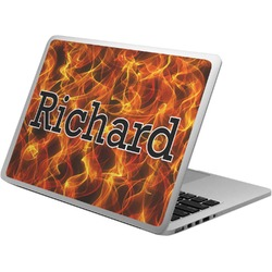 Fire Laptop Skin - Custom Sized (Personalized)