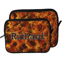 Fire Laptop Sleeve / Case (Personalized)