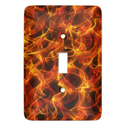 Fire Light Switch Covers - Multiple Toggle Options Available (Personalized)
