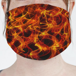 Fire Face Mask Cover (Personalized)