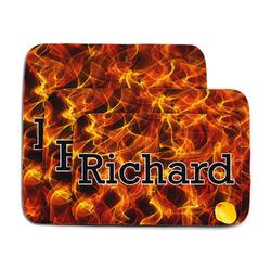 Fire Memory Foam Bath Mat (Personalized)