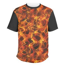 Fire Men's Crew T-Shirt (Personalized)