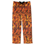 Fire Mens Pajama Pants (Personalized)