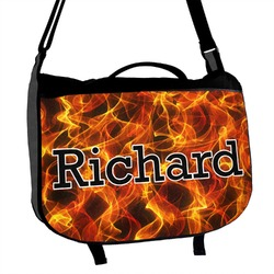 Fire Messenger Bag (Personalized)
