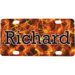 Fire Mini / Bicycle License Plate (Personalized)