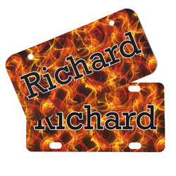Fire Mini/Bicycle License Plates (Personalized)