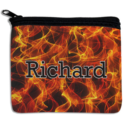 Fire Rectangular Coin Purse (Personalized)
