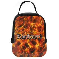 Fire Neoprene Lunch Tote (Personalized)