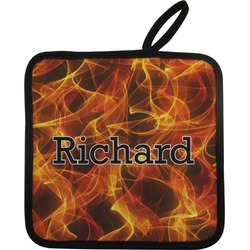 Fire Pot Holder (Personalized)