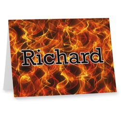 Fire Note cards (Personalized)