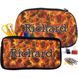 Fire Pencil / School Supplies Bag (Personalized)