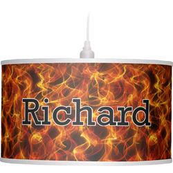 Fire Drum Pendant Lamp (Personalized)