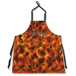 Fire Apron Without Pockets w/ Name or Text