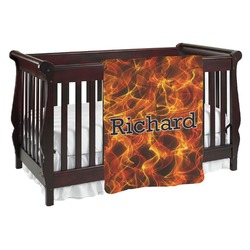 Fire Baby Blanket (Personalized)