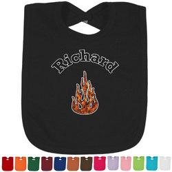 Fire Baby Bib - 14 Bib Colors (Personalized)