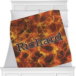 Fire Minky Blanket (Personalized)