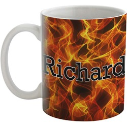 Fire Coffee Mug (Personalized)