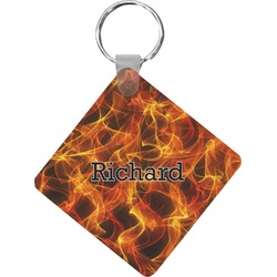 Fire Diamond Key Chain (Personalized)