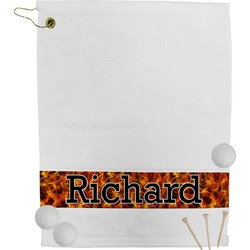 Fire Golf Towel (Personalized)