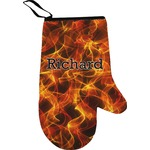 Fire Oven Mitt (Personalized)