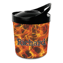 Fire Plastic Ice Bucket (Personalized)