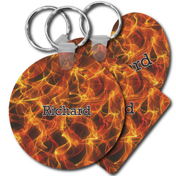 Fire Plastic Keychains (Personalized)