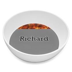 Fire Melamine Bowl 8oz (Personalized)