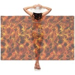 Fire Sheer Sarong (Personalized)