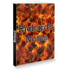 Fire Softbound Notebook (Personalized)