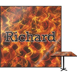 Fire Square Table Top (Personalized)