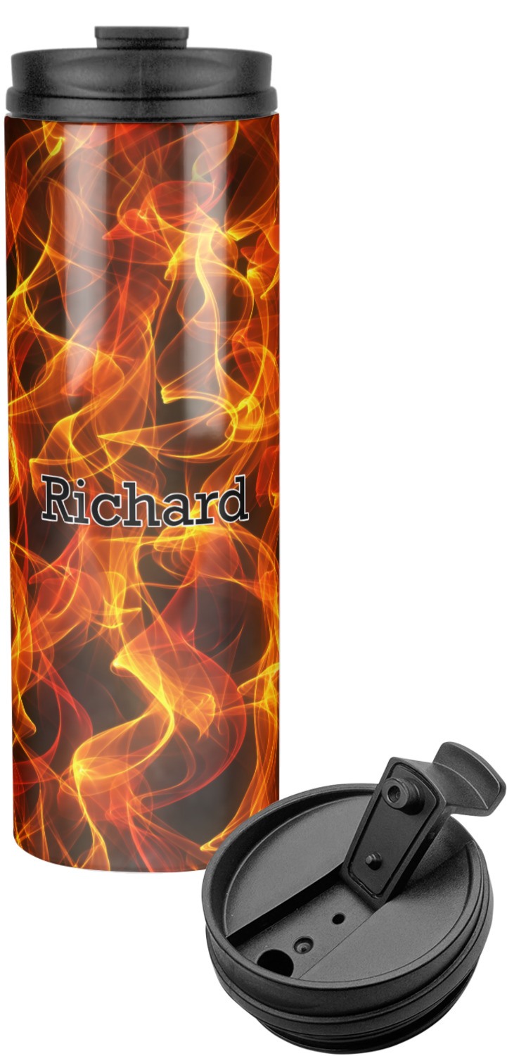 fire stainless steel tumbler personalized youcustomizeit. Black Bedroom Furniture Sets. Home Design Ideas