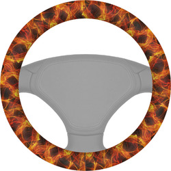 Fire Steering Wheel Cover (Personalized)