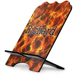 Fire Stylized Tablet Stand (Personalized)
