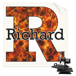 Fire Sublimation Transfer (Personalized)