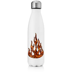 Fire Tapered Water Bottle - 17 oz. - Stainless Steel (Personalized)