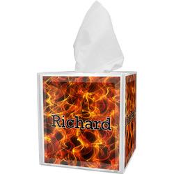 Fire Tissue Box Cover (Personalized)