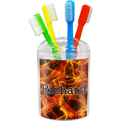Fire Toothbrush Holder (Personalized)