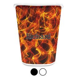 Fire Waste Basket (Personalized)