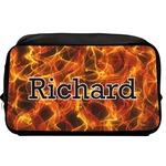 Fire Toiletry Bag / Dopp Kit (Personalized)
