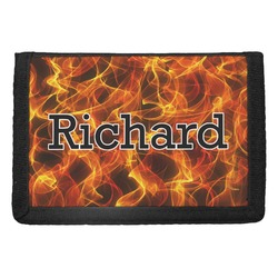 Fire Trifold Wallet (Personalized)