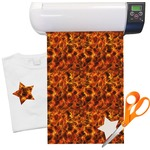 Fire Heat Transfer Vinyl Sheet (12