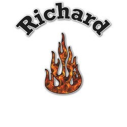 Fire Graphic Decal - Custom Sizes (Personalized)
