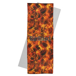 Fire Yoga Mat Towel (Personalized)