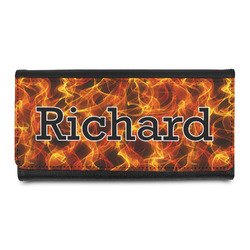 Fire Leatherette Ladies Wallet (Personalized)