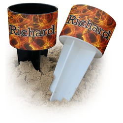 Fire Beach Spiker Drink Holder (Personalized)